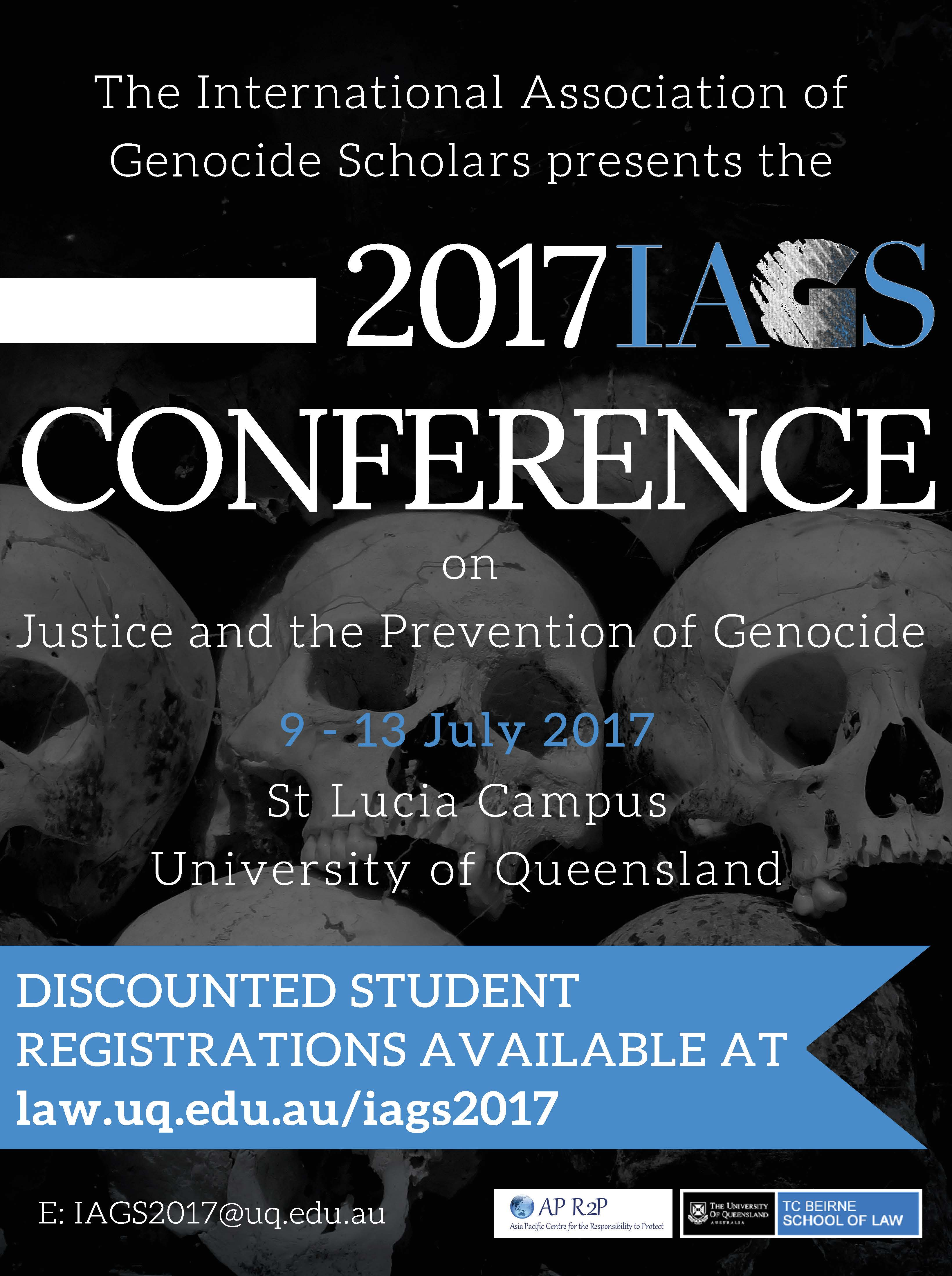 IAGS Conference Flyer