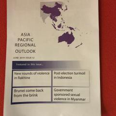 Asia Pacific Regional Outlook June 2019  front page