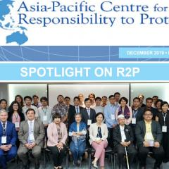 Participants at the Thailand National Dialogue
