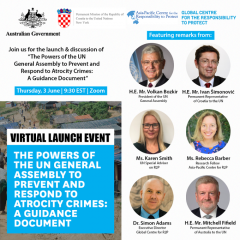 Guidance Document Launch Event