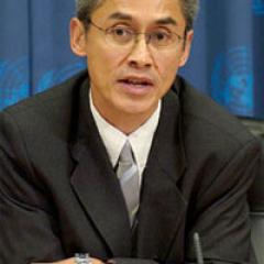 Photo of Professor Vitit Muntarbhorn