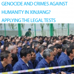 Crimes in Xinjiang